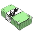 Dollar cash money icon vector image vector image