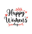happy womens day international day image vector image vector image