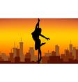 Pole dance women vector image vector image