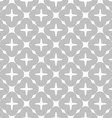 Slim gray four foils with offset vector image vector image