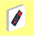 usb flash drive computer symbol vector image vector image