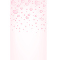 Valentine card background vector image vector image
