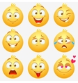 emotions smilies vector image