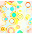 Bright seamless abstract background vector image vector image
