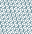 Curved geometric seamless pattern vector image vector image