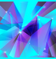 geometric background violet turquoise vector image