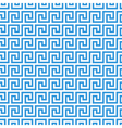 greek fret meander seamless pattern vector image vector image