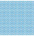 greek fret meander seamless pattern vector image vector image