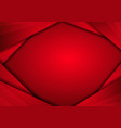 red metal abstract technology background with vector image