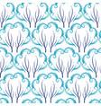 winter pattern vector image vector image