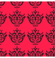 Baroque like seamless pattern vector image