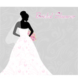 bridal shower vector image vector image