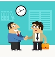 Business life hire scene vector image vector image