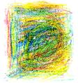 crayon texture8 vector image vector image