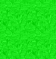 Green seamless triangle pattern background vector image vector image