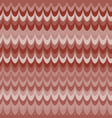 ikat wave red feather retro seamless vector image vector image