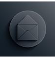 dark circle icon Eps10 vector image vector image
