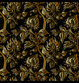 paisley background vintage seamless pattern with vector image