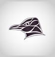 penguin logo icon vector image vector image