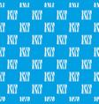 slice of ham pattern seamless blue vector image vector image