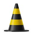 Traffic cone vector image vector image