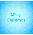 Merry Christmas Lettering Design card vector image
