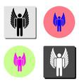 angel flat icon vector image