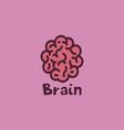 brain symbol template vector image