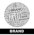 brand vector image