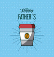 fathers day related icons and lettering image vector image vector image