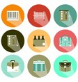 icon for tool shop shadow vector image vector image
