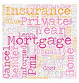 Private Mortgage Insurance Your Rights and vector image vector image