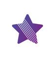 star logo minimal abstract symbol geometrical vector image vector image