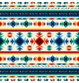 Tribal abstract seamless pattern aztec geometric vector image