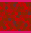abstract background of red hexagons pattern of vector image