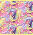 Abstract wedding colorful seamless pattern