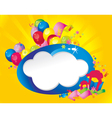 Celebration Border vector image vector image