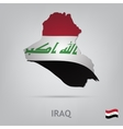 country iraq vector image