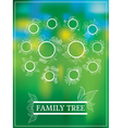 family tree 1 vector image vector image