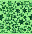 geometric seamless star shapes pattern repeating vector image vector image