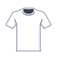 T Shirt Tamplate vector image