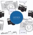 vintage rangefinder film vector image