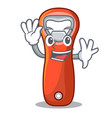 waving aluminium bottle opener for design cartoon vector image vector image