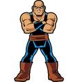 Anime Manga Muscle Man vector image vector image