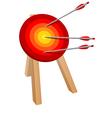 arrow target vector image vector image