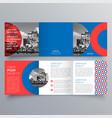 brochure design 1749 vector image vector image