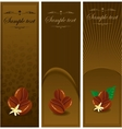 coffee banners vector image vector image