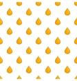 Drop of honey pattern cartoon style vector image vector image