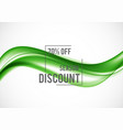 abstract advertising sale design template vector image vector image