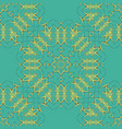 arabian tiles seamless pattern fabric colorful vector image vector image